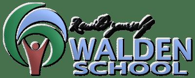 WS Walden School Logo quer Slogan 3d leuchtend frei